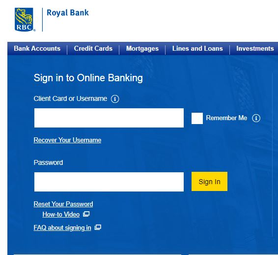 RBC Credit Card Activation | Activate Royal Bank Credit Cards
