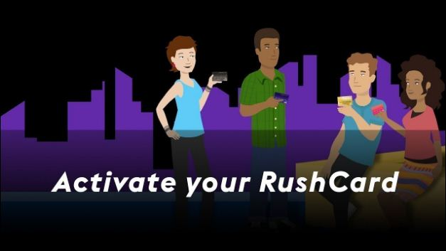 activate rushcard