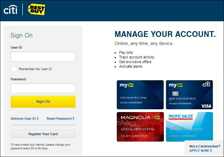 Activate best buy Card