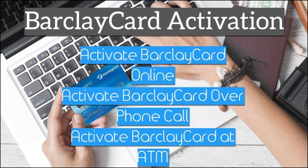 Activate barclaycard