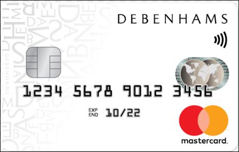 Activate Debenhams Credit Card