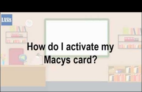 Activate macy's credit card