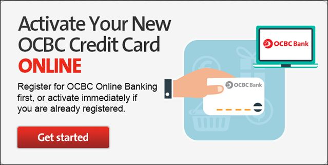 apply ocbc credit card actvation