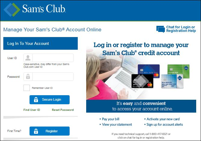 Sam's Club Credit Card Customer Service