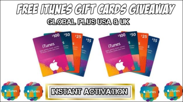 iTunes Gift Card Activation