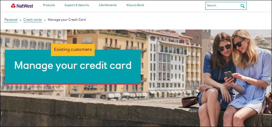 activate natwest credit card online