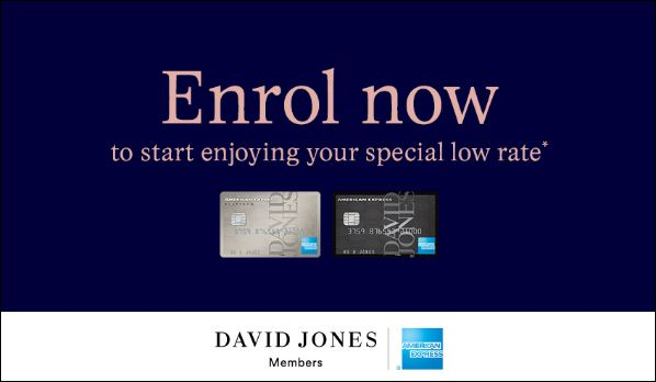 david jones storecard login