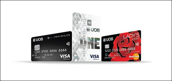 uob credit card login