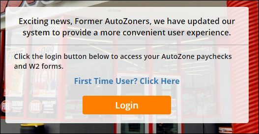 Activate Former Autozoner Account