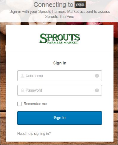 Sprouts Employee Portal Login