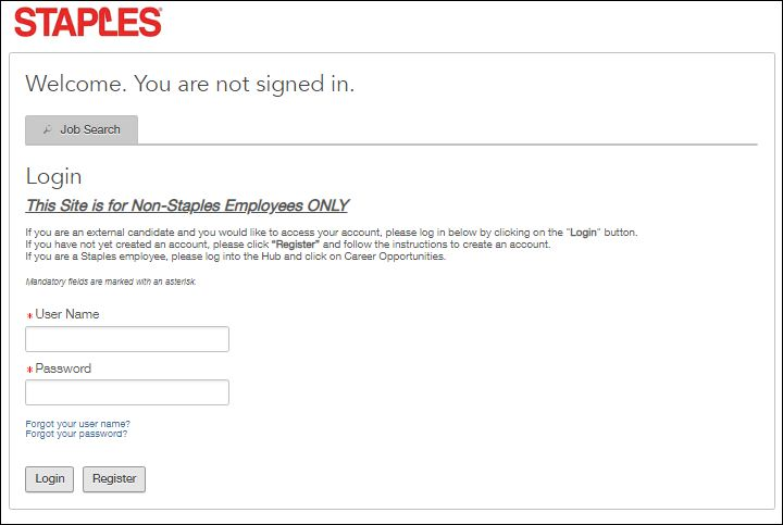 Staple Employee Login