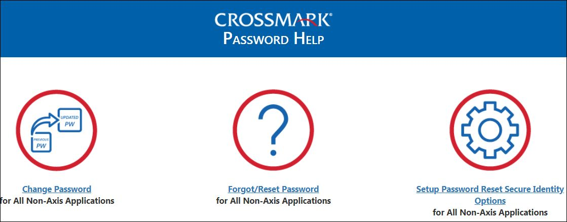 Reset Crossmark Salestrak Sign In Password