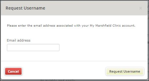 Reset Marshfield Clinic Login Password