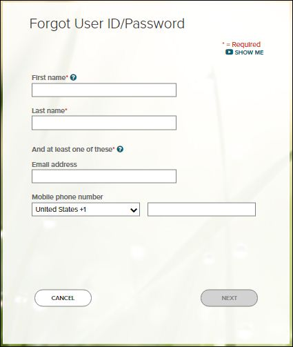 Reset ADP Payroll Password
