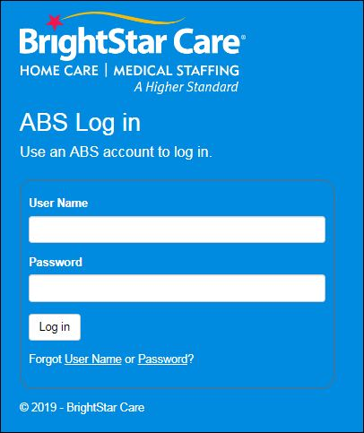 ABS Log In