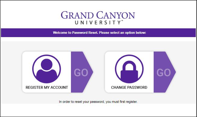GCU Online Application Login