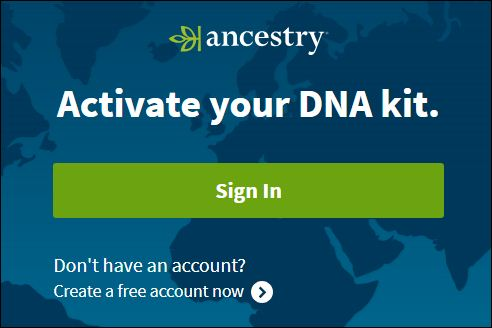 Ancestry DNA Kit Registration