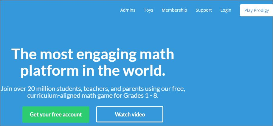Prodigy Math Game Student Login