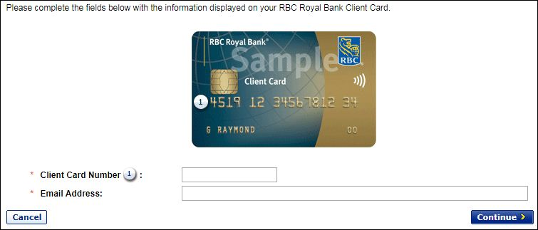 Sign In To RBC Online Banking