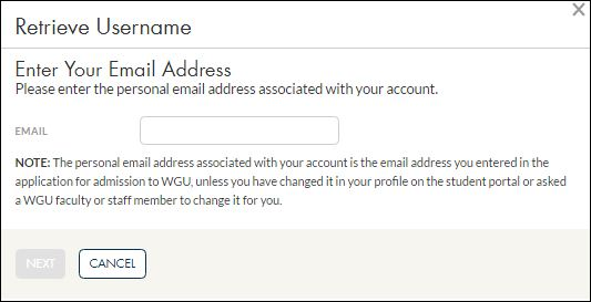 WGU Student Sign In