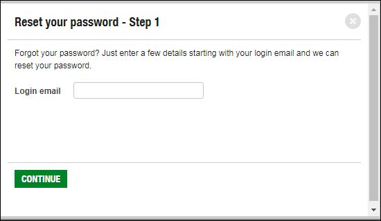 Reset U Bank Password