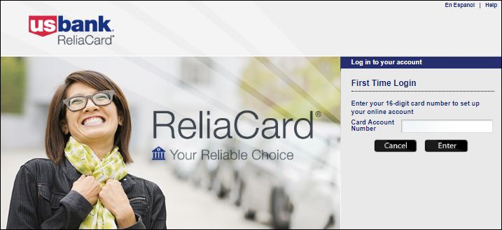 US Bank ReliaCard Activate Card