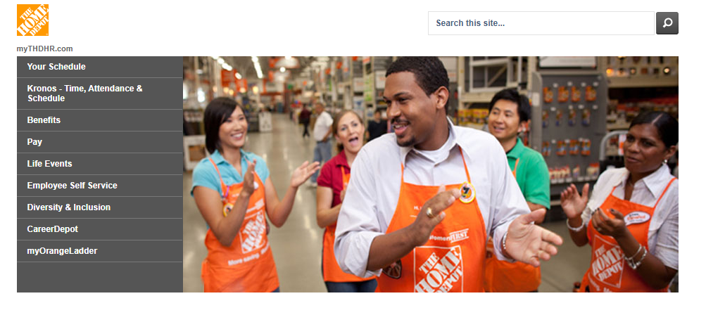 Home Depot Employee Self-Service Login